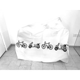 Funda Cubre Bicicletas Contra Lluvia Y Polvo Largo 1.97 Alto
