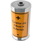 Coletor De Pilhas E Baterias 25l Jedox