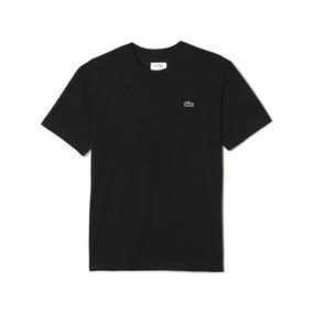 0cc8af107590c Camiseta Lacoste Masculina Original Básica Th761821 M  Curta