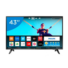Smart Tv Led 43 Polegadas Philips 43pfg5813 Full Hd Netflix
