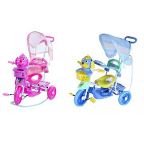 Triciclo Infantil 3x1 Vira Gangorra Com Som Luz