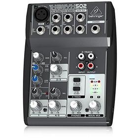 Xenyx502 Mesa De Som Behringer Xenyx 502 Xenyx 502