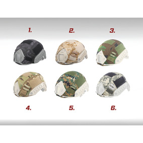 Cubre Casco Cobertor Emerson Militar Forro Paintball Airsoft