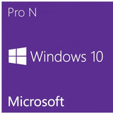 Window 10 Pro N 32/64 Bits Licencia Digital Original