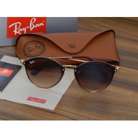 77e42de05d40a Ray Ban Blaze Round Marrom - Óculos De Sol Ray-Ban no Mercado Livre ...
