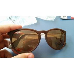 Oculos Unissex   Ray-ban Erika Marrom Fosco - Marrom. R  269 49 1dfb845016