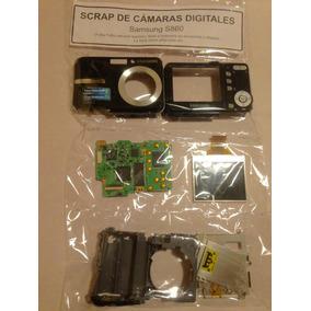 Cámara Digital Samsung S860 - Es Scrap Para Repuestos