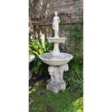Fuente De Agua Estatua Jardin