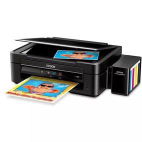 Impressora Multifuncional Epson Tanque Tinta L380 L220 12x