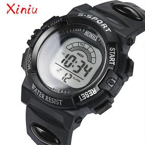 Relógio Honhx S-sport Com Alarme E Data Resistente A Água