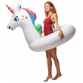 Unicornio Salvavidas Flotador Inflable Floatie Kings