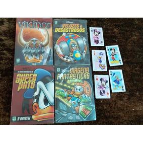 Lote Com 4 Disney Temáticos Novas, + De 1200 Págs, + Brinde