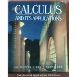 Calculus And Applications 7th Edition