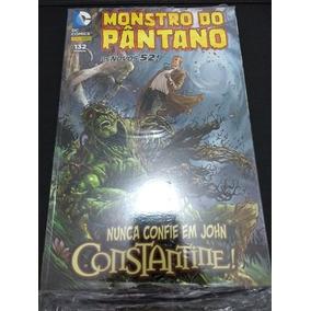 Monstro No Pantano Nunca Confie Em John Constantine Ano 2014