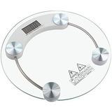 Balança Digital De 1 A 180 Kg Vidro Elegante Alta Precisão