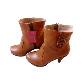 992e2729d80da Botines Gamuzado Mujer Calzado Femenino. Lima · Botin Femenino Trujillano