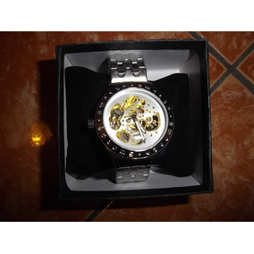 Reloj Swatch De Engranajes/dorado/cuerdas/original/elegante/