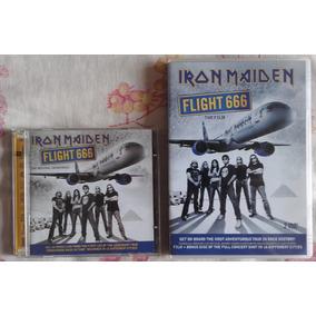 Cd E Dvd Iron Maiden Flight 666