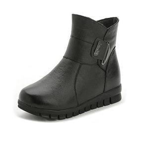 23891669526 Botas Planas Para Dama Tejida En Lana - Zapatos para Mujer en ...