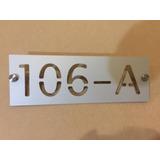 Numeros Residenciales Casa U Oficina Oferta!!14 Cm X 36 Cm