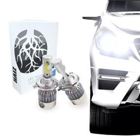 Kit Super Led 6000k Lumens 12-24v Par Xenon H4 Onix Celta