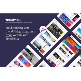 Trendymag - Wordpress News Magazine E Tema De Blog Original