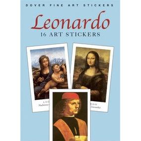 Leonardo - 16 Art Stickers - Livreto Com 16 Adesivos