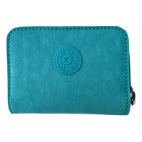 10e1b9ec13e Kipling Cartera Pequeña Tops Green Mini 100% Original Oferta