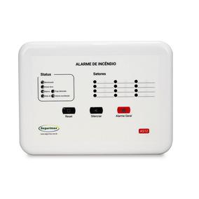 Central Alarme De Incêndio 12v - 12 Setores Segurimax C/bate