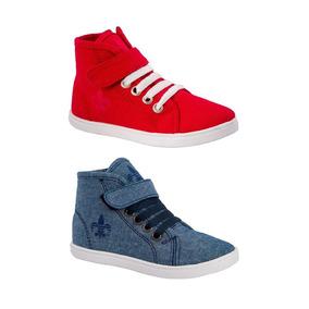 timeless design 9108f 3565c Kit 2 Pares Tenis Urban Shoes Marino-rojo 170294 Inf 18 Mc