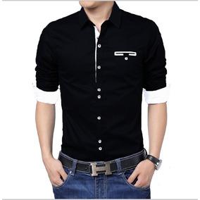 Camisa Negra - Camisas de Hombre en Mercado Libre Colombia be89b44336b75