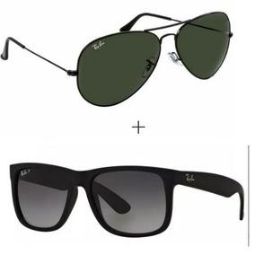 Oculos Ray Ban Aviador E Justin Pague 1 E Leve 2 - Óculos no Mercado ... 8dc94343ae