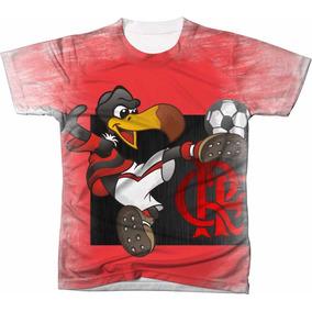 Camiseta Estampada Mascote Flamengo Tamanho - Camisetas no Mercado ... ef4e960b0e013