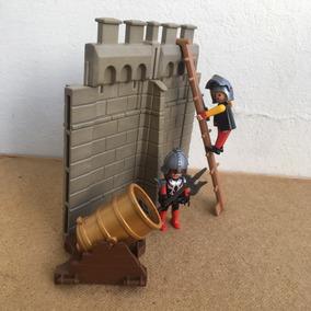 Playmobil Medieval Ataque No Castelo Frete Veja Texto