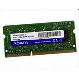 Memoria Adata Sodimm Ddr3 Pc3-10600 (1333mhz), 2 Gb