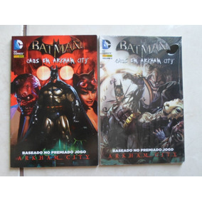 Batman Caos Em Arkham City Vol. 1 E Vol. 2 Panini