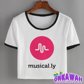 Remera Logo Musical.ly - Ropa y Accesorios Blanco en Mercado Libre ... eafa70c5c14