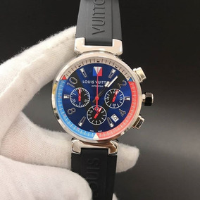 2396c11cc08 Relogio Louis Vuitton Marrom - Relógios De Pulso no Mercado Livre Brasil
