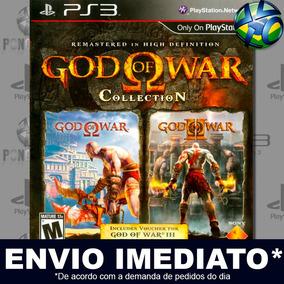 God Of War Collection Ps3 Midia Digital Envio Imediato