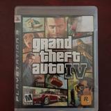 Grand Theft Auto 4 Ps3 Con Manual Y Mapa