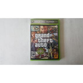 Grand Theft Auto 4 - Gta 4 - Xbox 360 - Original