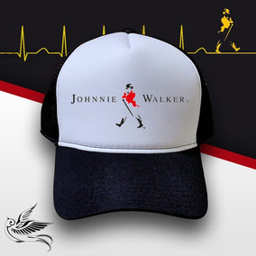 Boné Johnnie Walker Trucker Snapback Preto 5cd0a2e75eb8