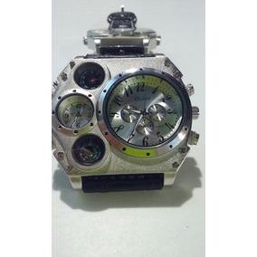 Relógio Militar Russo Original Oulm Termômetro E Bússola