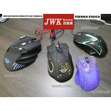 Mouse Gamer Usb Luce Led Multicolor Preciofabrica Jwk Vision
