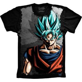 Camiseta Goku Super Sayajin Blue Dragon Ball Super - Heroes