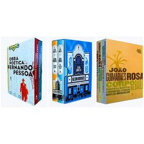 Box Livro Fernando Pessoa + Nelson Rodrigues + João Guimarãe