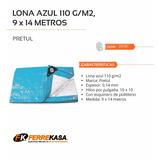 Lona De 9 X 14 Metros Pretul Azul 23787