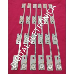 Kit 6 Barra Led Semp Toshiba 40l2400 40l5400 Dl3944 Dl4045