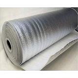Manta Térmica Isolante Telhado Subcobertura 2mm 1face 100 M²
