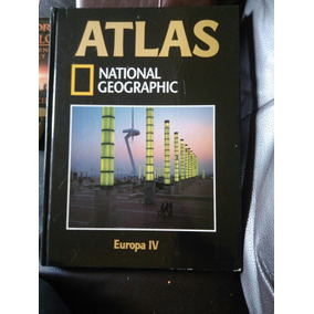 Atlas National Geographic Europa Iv Pasta Dura